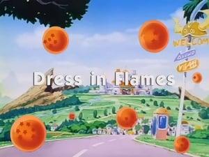 El vestido de novia rodeado por las llamas