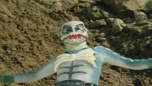 Kamen Rider Season 1 :Episode 16  Wrestler of the Devil, Pirasaurus