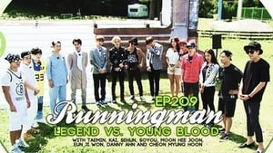 Running Man Season 1 :Episode 209  Legend VS Young Blood