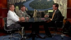 Sen. Jim Webb, Joshua Bleill, Lt. Col. Brent Cummings, John Legend