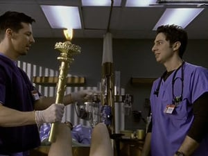 Episodio TV Online Scrubs HD Temporada 1 E7 Mi super ego