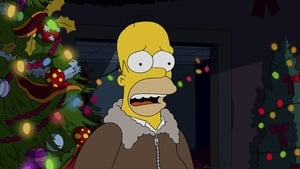 The Simpsons Season 26 :Episode 9  I Won't Be Home for Christmas