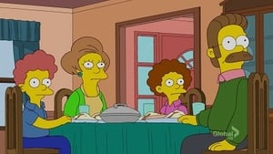 The Simpsons Season 23 :Episode 21  Ned 'n' Edna's Blend