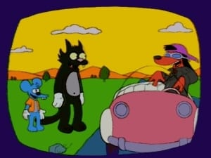 The Simpsons Season 8 : The Itchy & Scratchy & Poochie Show