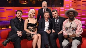 Jennifer Lawrence, James McAvoy, Jack Whitehall, Johnny Depp, Will.i.am