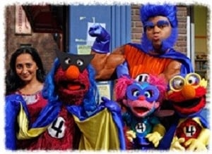 Sesame Street Season 41 :Episode 6  The Furry Four