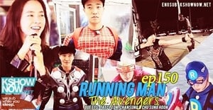 Running Man Season 1 :Episode 150  The Avengers