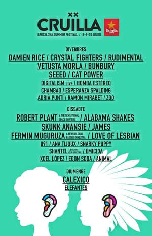 Damien Rice -  Festival Barcelona 2015