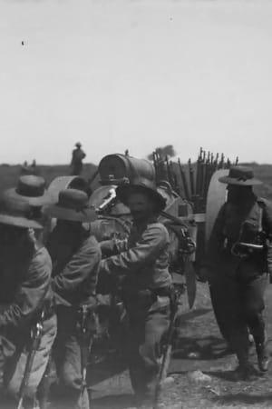 Ladysmith – Naval Brigade Dragging 4.7 Guns into Ladysmith