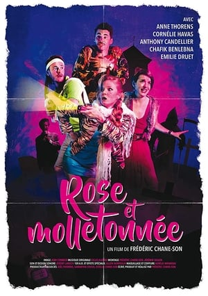 Rose et Molletonnée
