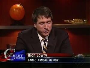 Tom Brokaw, Rich Lowry