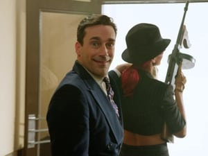 Jon Hamm with Rihanna