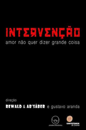 Intervençao – Amor não quer dizer grande coisa