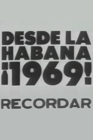 Desde la Havana ¡1969! Recordar