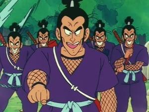 Cinco ninjas contra Gokú