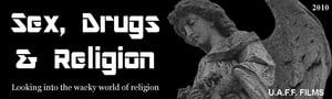 Poster Sex, Drugs & Religion Online