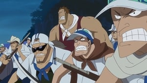 One Piece Season 18 :Episode 780  A Hungry Front - Luffy and the Marine Rookies!