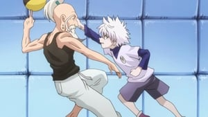 Hunter x Hunter Season 1 :Episode 7  Showdown x On The x Airship