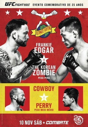 UFC Fight Night  139:  Korean Zombie vs Rodriguez