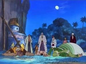 ¡Devolvednos a Robin! ¡Luffy contra Blueno!
