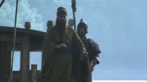 Guan Yu attends a feast alone and armed with only a blade