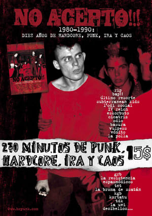 No acepto!!! 1980-1990: diez años de hardcore, punk, ira y caos