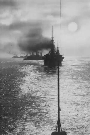 Warships at Sunset