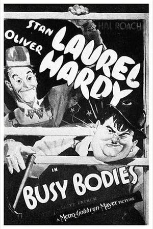 Laurel et Hardy - les menuisiers