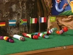 Sesame Street Season 38 :Episode 17  The Worm Cup Games