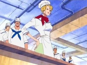 Sanji the Chef! Demonstrating True Pride at the Marine Mess Hall!