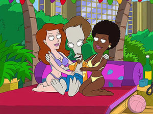 American Dad! Season 4 :Episode 14  Office Spaceman