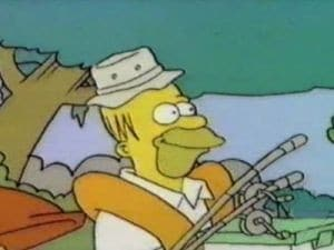 The Simpsons Season 0 : Gone Fishin' (Sort of)