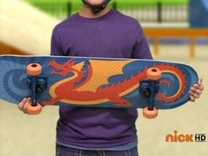 The Boy With the Dragon Skateboard
