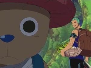 ¡El poder de las Frutas del Demonio! ¡La transformación de Kaku y Jabura!