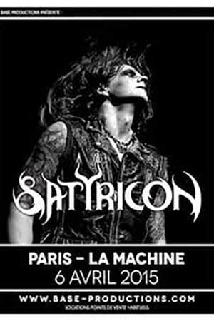 Satyricon - La Machine Du Moulin Rouge  (Paris, France 2015)