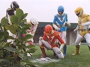 Super Sentai Season 15 :Episode 38  Sudden Hammer!