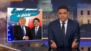 The Daily Show with Trevor Noah Season 23 :Episode 17  Jeff Flake & Tig Notaro