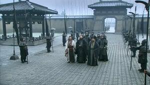 Liu Bei garrisons an army at Xinye