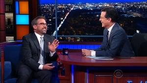 The Late Show with Stephen Colbert Season 1 :Episode 53  Steve Carell, Jennifer Hudson
