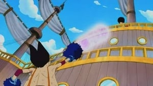 Full Power Noro Noro Beam vs The Invulnerable Luffy