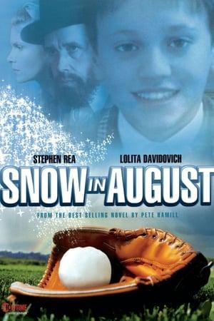 De la neige en août