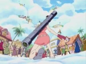 ¡Al fin se enfrentan! ¡El pirata Luffy contra el dios Enel!