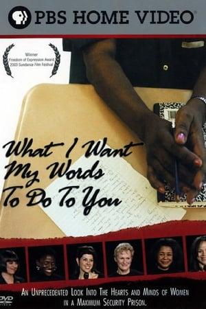 What I Want My Words to Do to You: Voices from Inside a Women's Maximum Security Prison (2003)