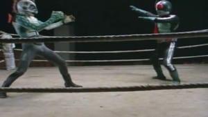 Kamen Rider Season 1 :Episode 17  Death Match in the Ring: Defeat! Pirasaurus