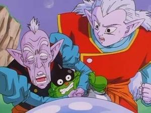Bebi and Goku Double KO!!