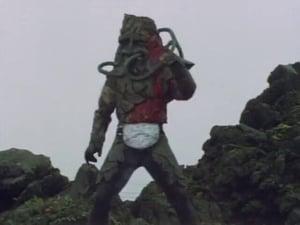 Kamen Rider Season 1 :Episode 41  Magma Monster Ghoster, Decisive Battle at Sakurajima