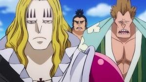 One Piece Season 21 :Episode 898  The Headliner! Hawkings the Magician Appears!