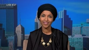 Ilhan Omar and Matthew Dowd