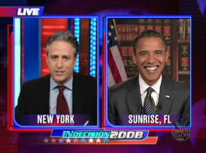 The Daily Show with Trevor Noah Season 13 : Senator Barack Obama