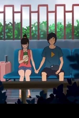 就是这个动画,异地恋看了都哭惨